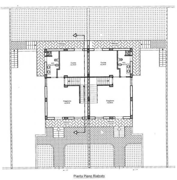 Villa vendita VITULAZIO (CE) - 5 LOCALI - 200 MQ