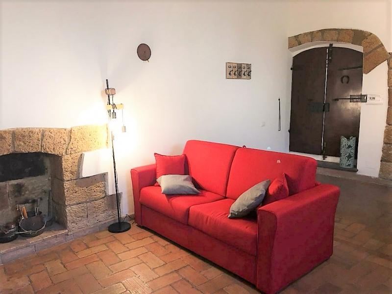 Orvieto centro - Caratteristico appartamento indipendente disponibile per affitti giornalieri o transitori fino a 6 mesi. Disponibile da Luglio 2019