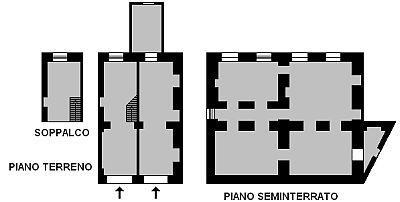 Locazione di locale commerciale vuoto centralissimo su due livelli collegabili con  ascensore e con posto auto.