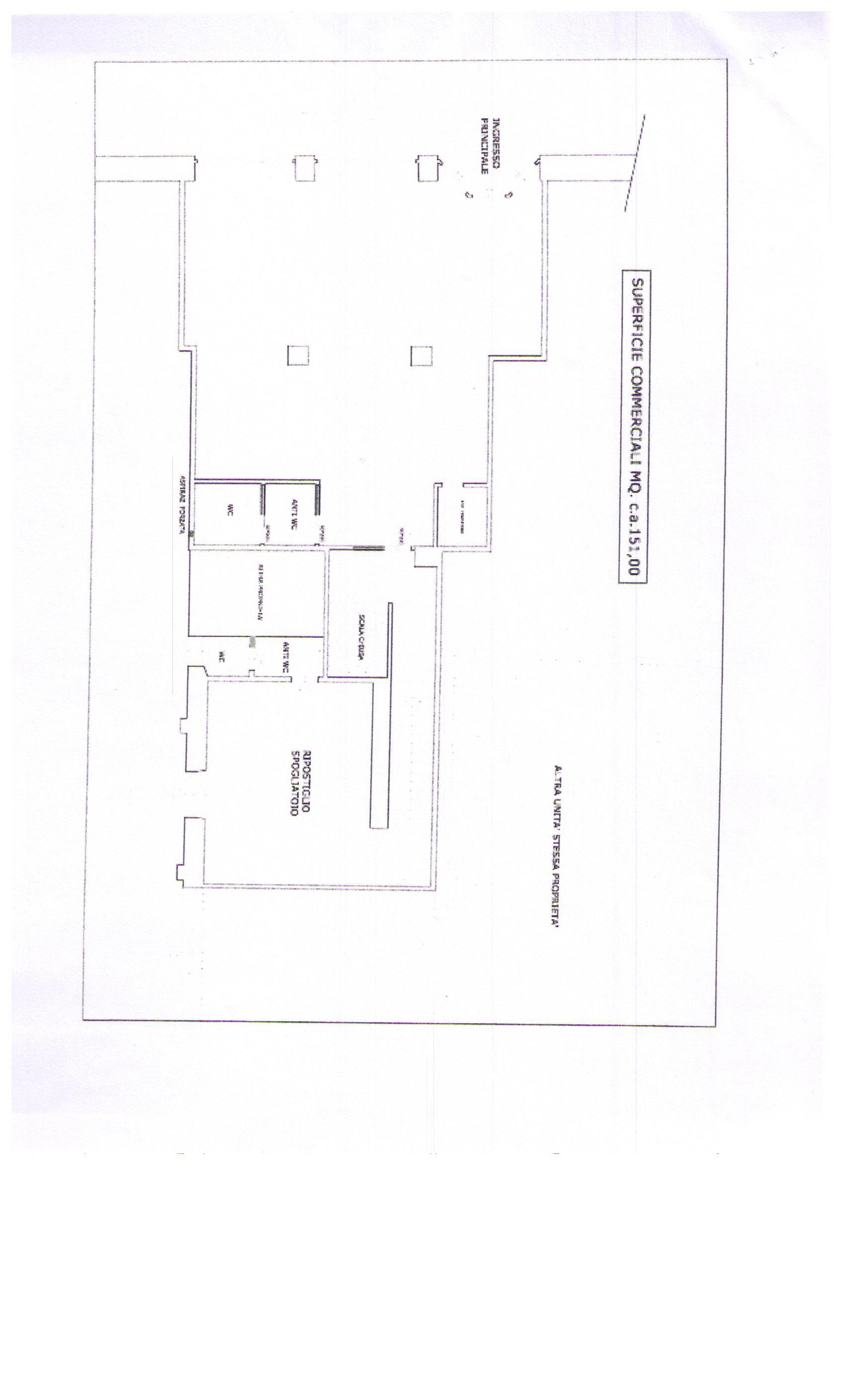 Brescia affittasi negozio 100 Mq Rif. 11189662