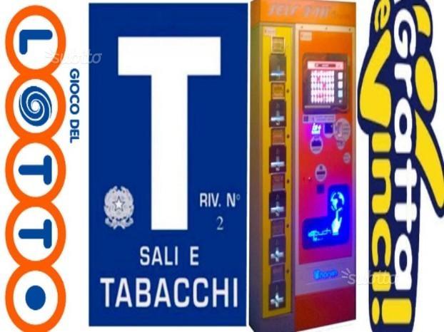 TABACCHERIA GIOCO LOTTO EDICOLA ECC.